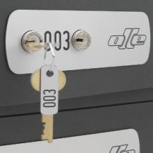 Serie c100 - Cerradura de llave intercambiable